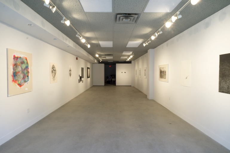 gallery interior space