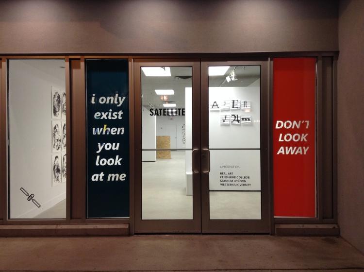 storefront window with vinyl text