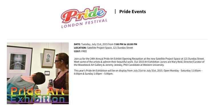 Pride Art Exhibition