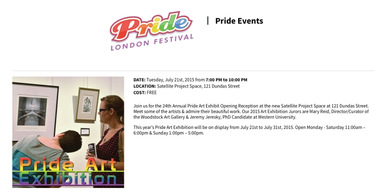 Pride Art Exhibition