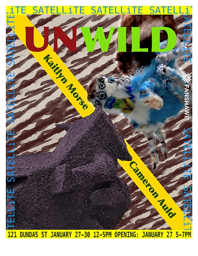 Satellite Fanshawe UNWILD poster 120