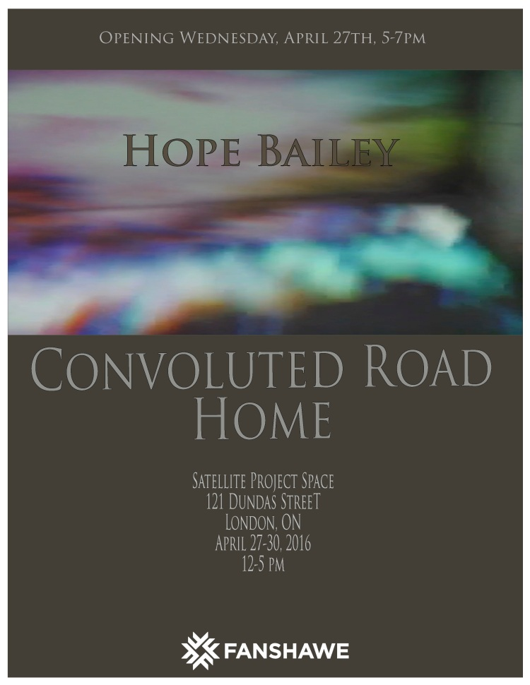Convoluted Road Home  Satellite Project April 27
