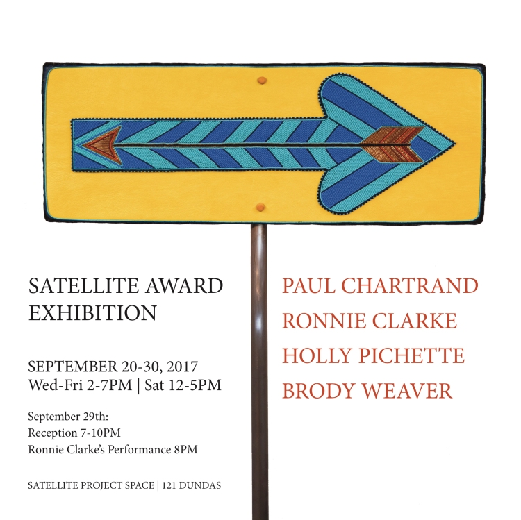 Satellite Award Exhibition 2017 Poster
