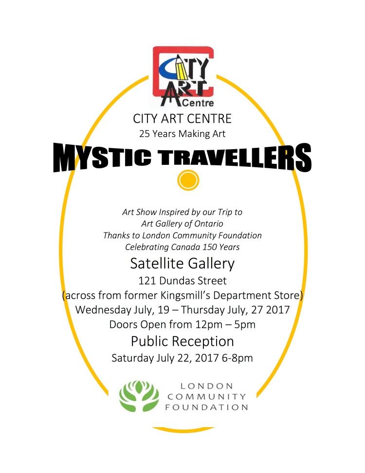 CITY ART CENTRE - poster - sattellite12